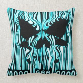 Astral Demon Barcode 666 Pillow