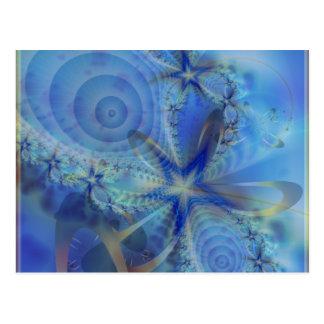 Astral Dreamer Fractal Postcard