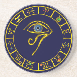 ASTRAL EYE / BLUE TALISMAN COASTER