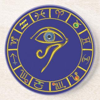 ASTRAL EYE / BLUE TALISMAN DRINK COASTER