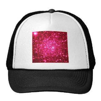 Astral Glitter Hot Pink Trucker Hat