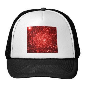astral glitter Red Trucker Hat