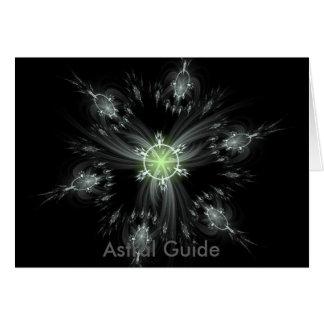 Astral Guide fractal image Card