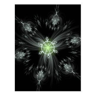 Astral Guide fractal image Postcard