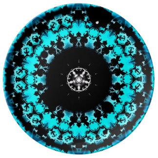 Astral Healing Mandala Porcelain Plate