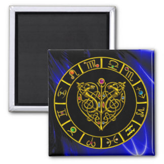 ASTRAL HEART 2 INCH SQUARE MAGNET