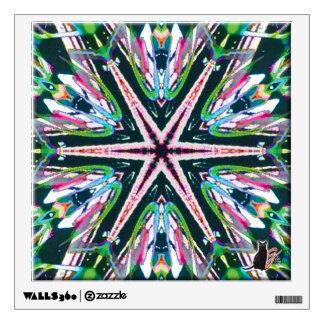 Astral Kaleidoscope Wall Sticker
