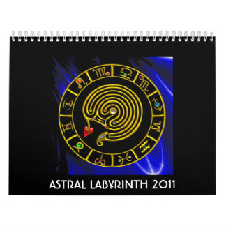 ASTRAL LABYRINTH 2011 CALENDAR