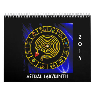 ASTRAL LABYRINTH 2013 CALENDAR