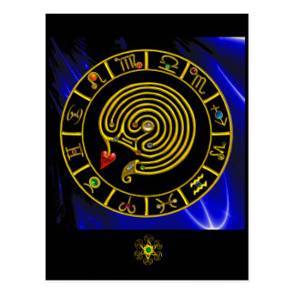 ASTRAL LABYRINTH POST CARDS