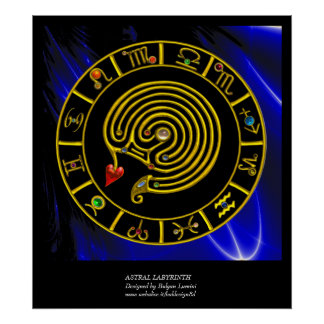 ASTRAL LABYRINTH POSTER