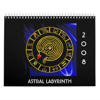 ASTRAL LABYRINTH CALENDAR
