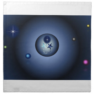 Astral Place - North Star Cloth Napkin