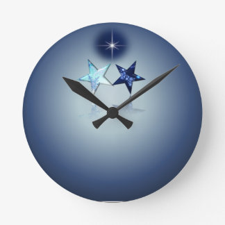 Astral Place - North Star Round Clock