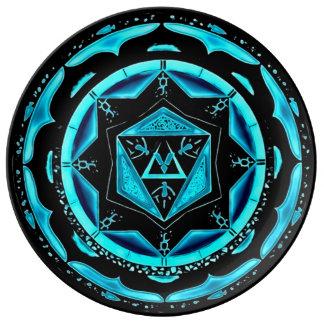 Astral Spirit Mandala Porcelain Plates