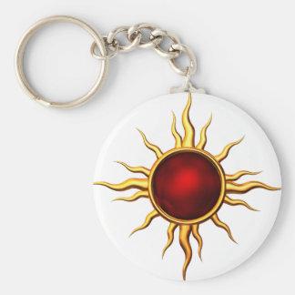 Astral Star Ruby: Keyring Keychain