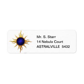 Astral Star: Sapphire Sun Label