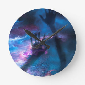 ASTRAL TRAVELLOR ROUND CLOCK