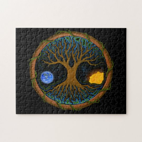 Astral Tree of Life Jigsaw Puzzle