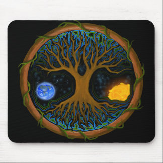 Astral Tree of Life Mouse Pad