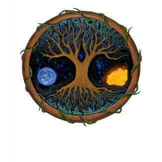 Astral Tree of Life shirt