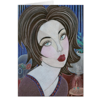'Astrid' greeting card
