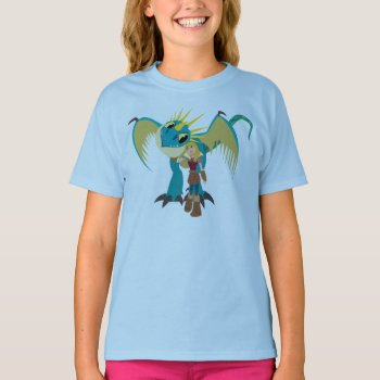 Astrid & Stormfly Graphic T-shirt by howtotrainyourdragon at Zazzle