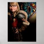 Astrid & Stormfly Poster