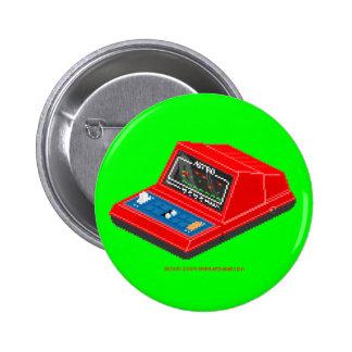 Astro Blaster Badge 4 Pinback Button
