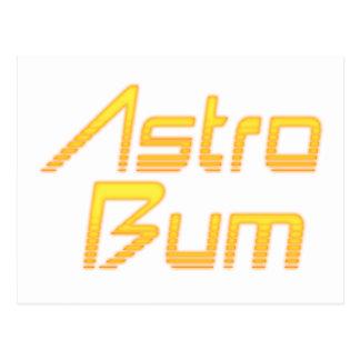 Astro Bum Postcard