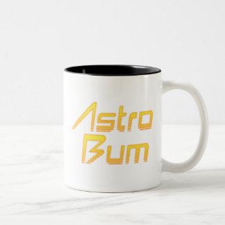 Astro Bum Two-Tone Coffee Mug