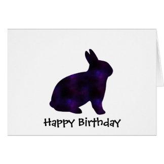 Astro Bunny Greeting Card