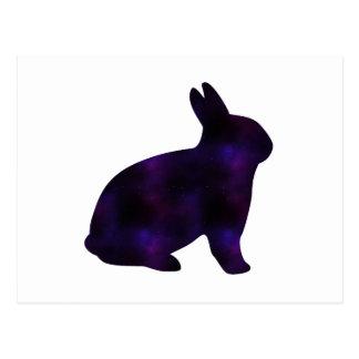 Astro Bunny Postcard