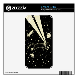 Astro Cat & Mouse Decal For The iPhone 4S