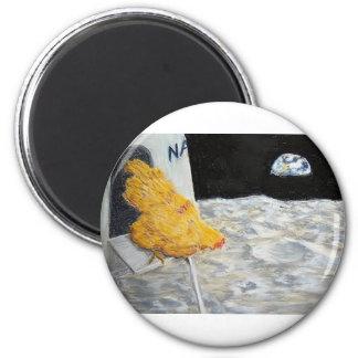 Astro Chicken Magnet