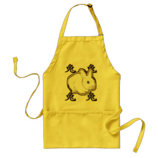 astro chinese rabbit adult apron