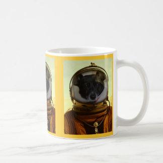 Astro Dog Classic White Coffee Mug