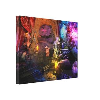 Astro Freak Show Canvas Canvas Print