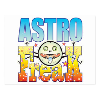 Astro Freaky Freak Postcard