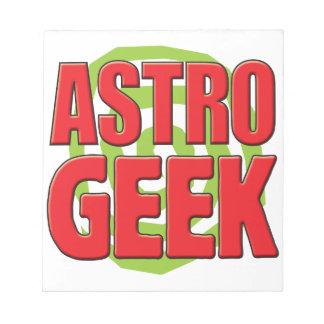 Astro Geek Scratch Pads