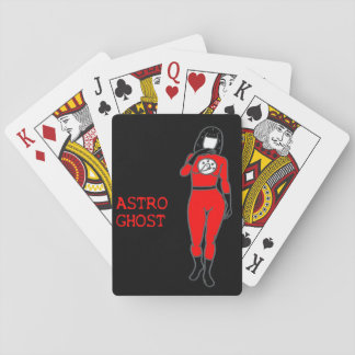 Astro Ghost Playing Cards