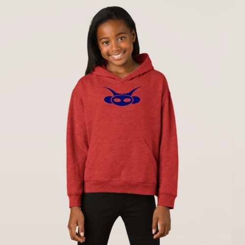 Astro Head- Blue with back print Hoodie