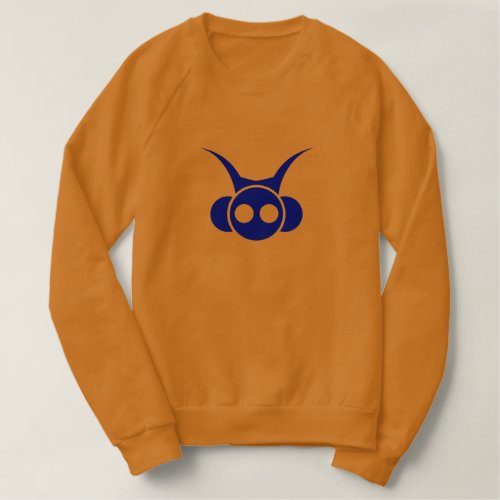 Astro Head- Blue with back print Sweatshirt