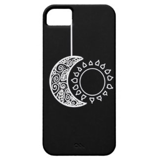 ASTRO Moon & Sun Black and White iPhone 5/5S Case
