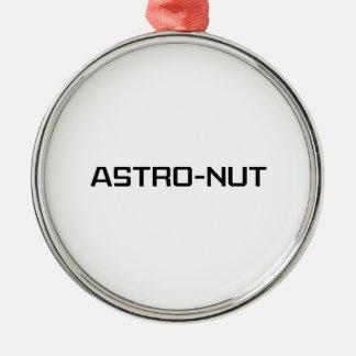 Astro-nuez Adorno Redondo Plateado