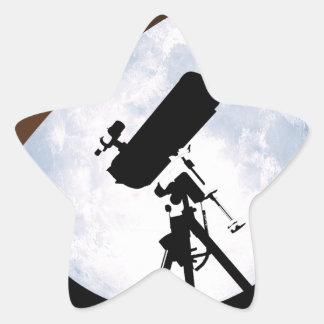 Astro-Nuez Pegatina En Forma De Estrella