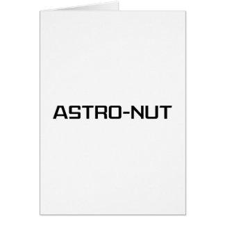 Astro-nuez Tarjeta De Felicitación