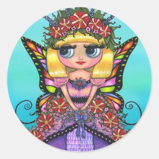 Astro Petunia Fairy Sticker