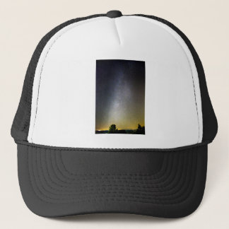 Astro Photography Milky Way Galaxy Trucker Hat