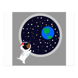 Astro Pup Postcard